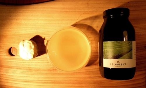 Lalani & Co: Okumidori Sencha Green Tea and Innes Log