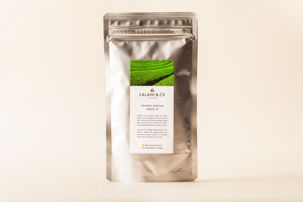 Lalani & Co Matcha Grade III Organic Tea