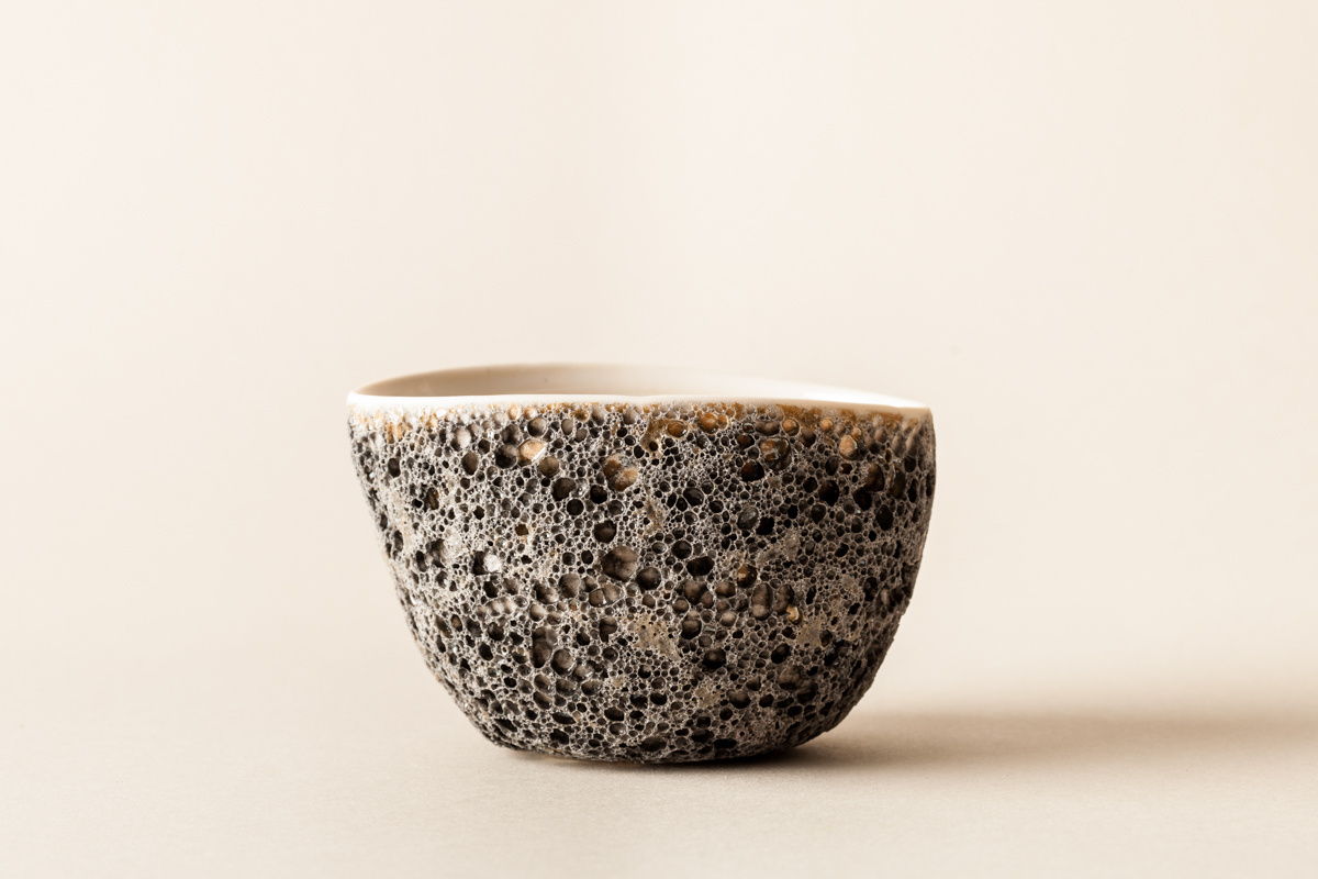 Lalani & Co London: Volcanic Matcha Bowl Carys Davies