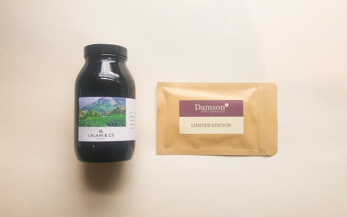 Lalani & Co London Damson Chocolate