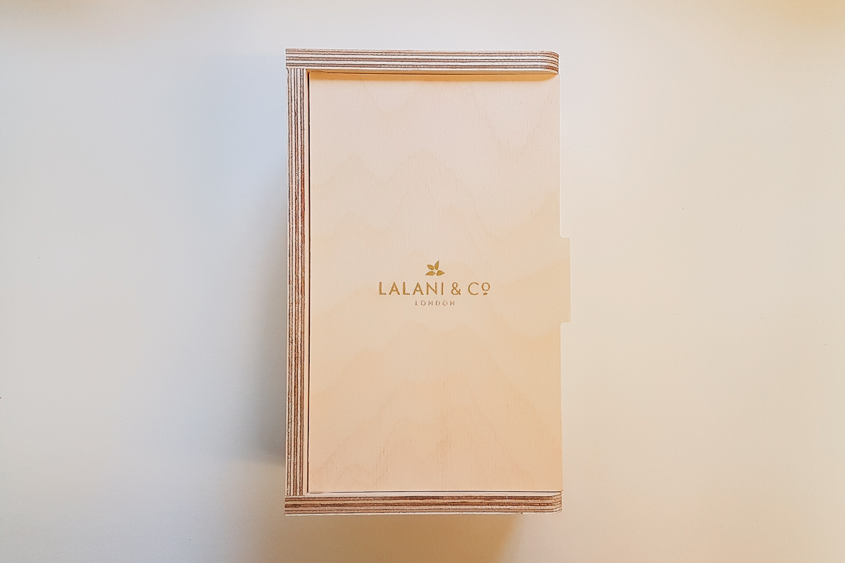 Lalani & Co London: Tea gift case