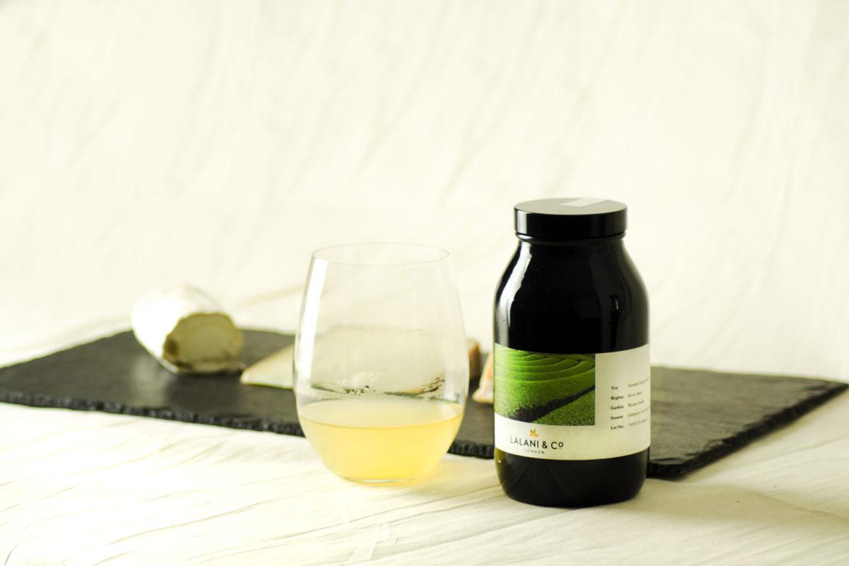 Lalani & Co London: Cheese and Japanese tea pairing