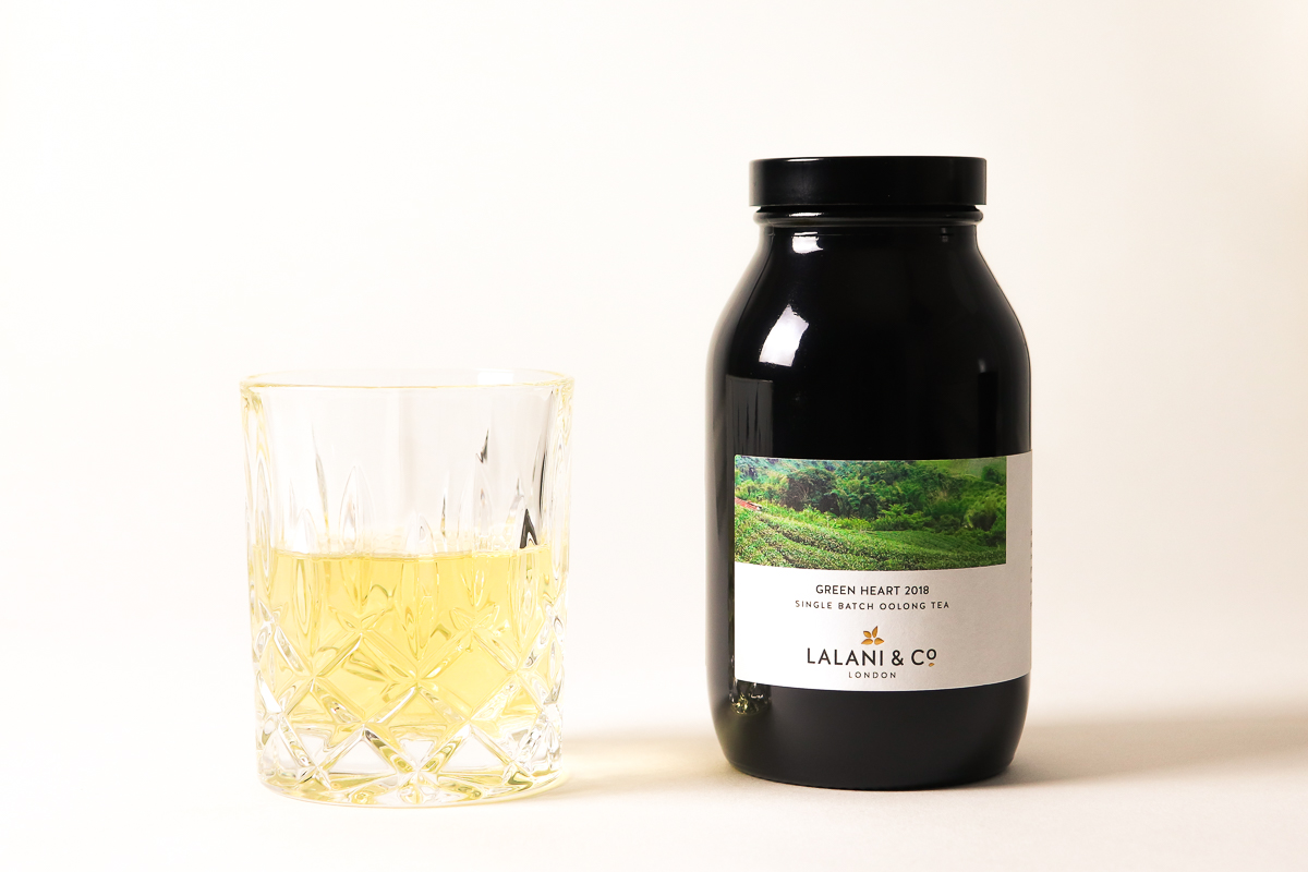 Lalani & Co London: Green Heart Taiwanese Oolong Tea